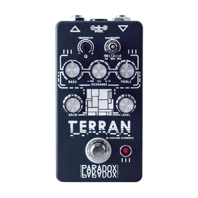 "Paradox effects TERRAN - RE-VOICING OVERDRIVE  ""人族""声音重构 过载 单块效果器"