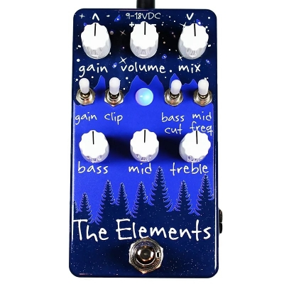 Dr. Scientist The Elements Overdrive 激励 过载 失真 单块效果器