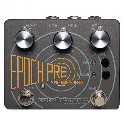 Catalinbread Belle Epoch Pre Preamp Boost & Buffer 前级 激励 缓冲 单块效果器